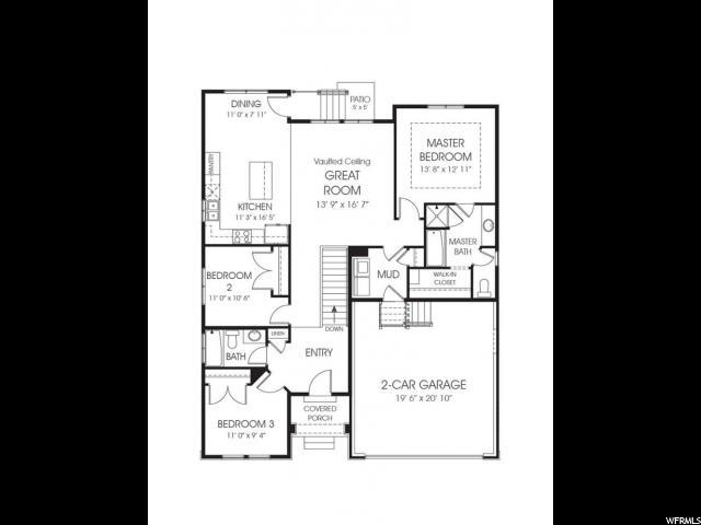Additional photo for property listing at 4959 W TICOA Lane 4959 W TICOA Lane Unit: 7 Herriman, Юта 84096 Соединенные Штаты