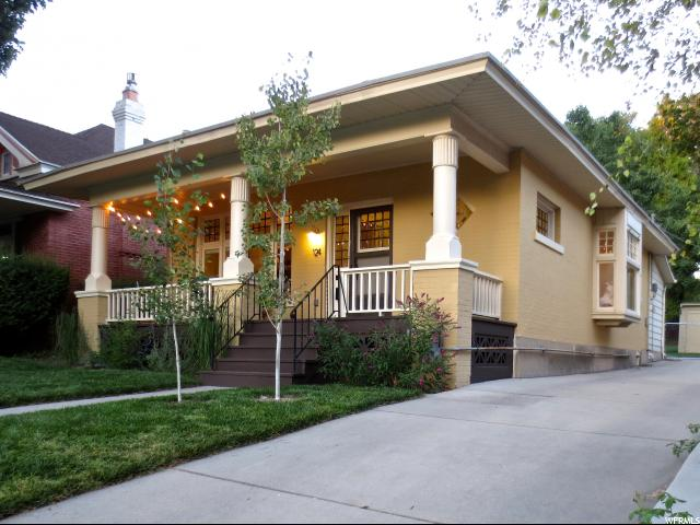 Home for sale at 124 M St, Salt Lake City, UT  84103. Listed at 397500 with 2 bedrooms, 2 bathrooms and 1,468 total square feet