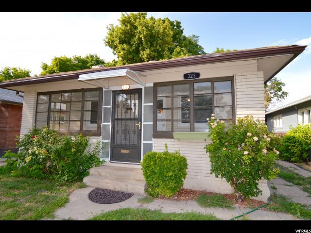 Один семья для того Продажа на 323 E RAMONA Avenue 323 E RAMONA Avenue Salt Lake City, Юта 84115 Соединенные Штаты