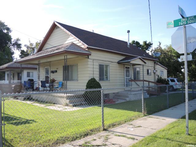 单亲家庭 为 销售 在 482 W 2ND Avenue 482 W 2ND Avenue Midvale, 犹他州 84047 美国