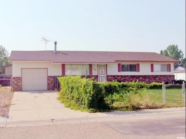 Single Family for Sale at 134 S ALTA Street 134 S ALTA Street Roosevelt, Utah 84066 United States