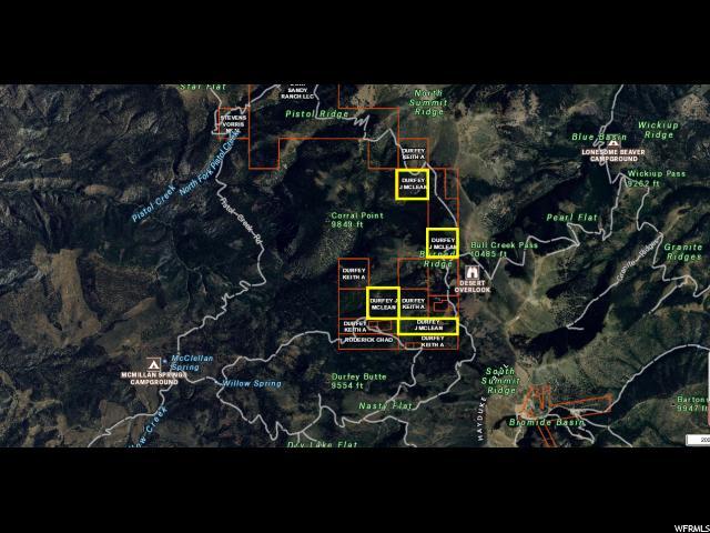 Земля для того Продажа на N SEE DIRECTIONS N SEE DIRECTIONS Boulder, Юта 84716 Соединенные Штаты