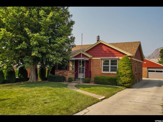 Один семья для того Продажа на 1666 E 20TH Ogden, Юта 84401 Соединенные Штаты