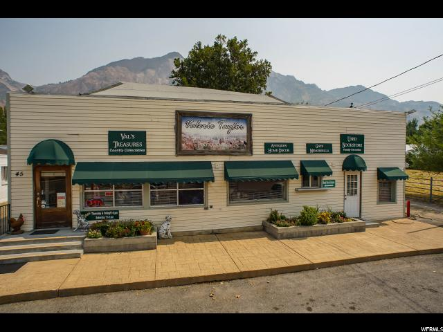 Commercial for Sale at 02-051-0135, 45 S MAIN Street 45 S MAIN Street Willard, Utah 84340 United States