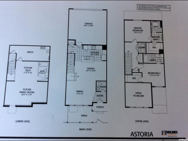 Additional photo for property listing at 12766 S ASHINGTON Lane 12766 S ASHINGTON Lane Unit: 59 Herriman, Utah 84096 United States