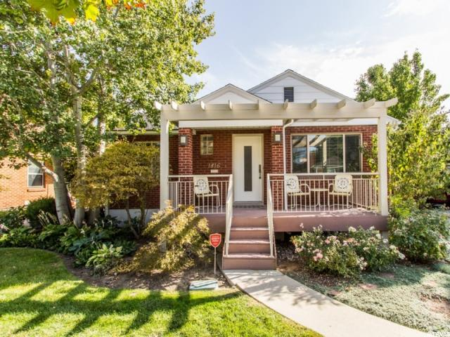 1816 E BLAINE AVE Salt Lake City, UT 84108 - MLS #: 1480365