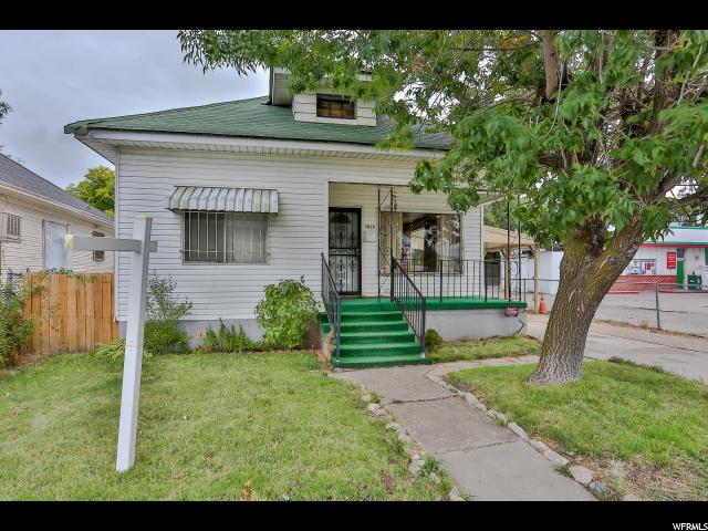 Single Family for Sale at 3016 WALL Avenue 3016 WALL Avenue Ogden, Utah 84401 United States