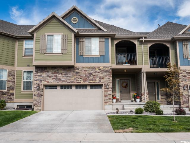 Townhouse for Sale at 9316 N PRAIRIE DUNES WAY Eagle Mountain, Utah 84005 United States
