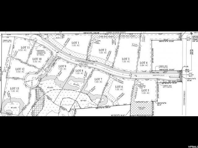 136 W FARM SPRINGS LN Midway, UT 84049 - MLS #: 1481244