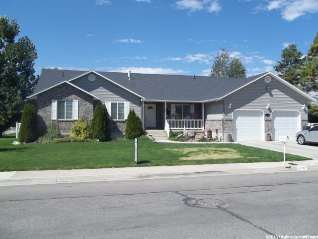 Один семья для того Продажа на 690 S 100 E 690 S 100 E Preston, Айдахо 83263 Соединенные Штаты