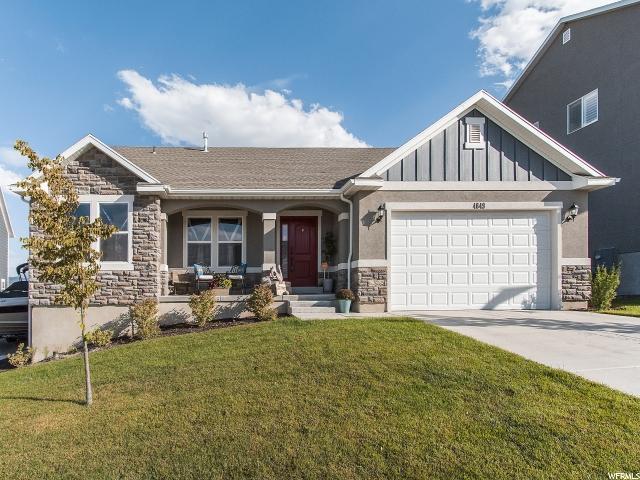 Single Family for Sale at 4649 W ETONBORO Drive 4649 W ETONBORO Drive Herriman, Utah 84096 United States