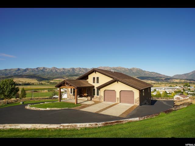 Unifamiliar por un Venta en 3360 BLUE SAGE Road Morgan, Utah 84050 Estados Unidos