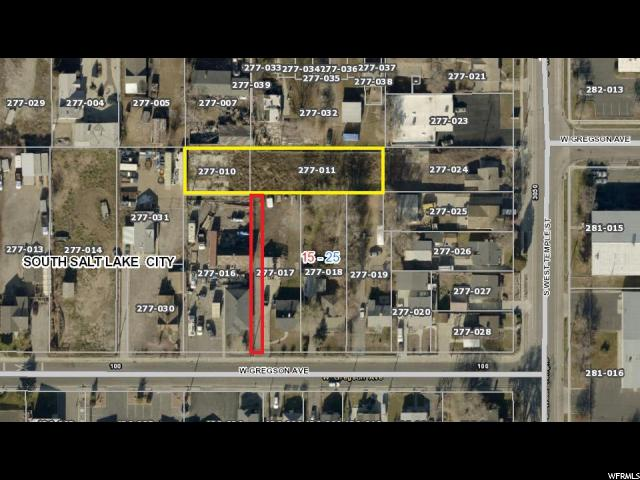 Land for Sale at 138 W GREGSON Avenue 138 W GREGSON Avenue South Salt Lake, Utah 84115 United States