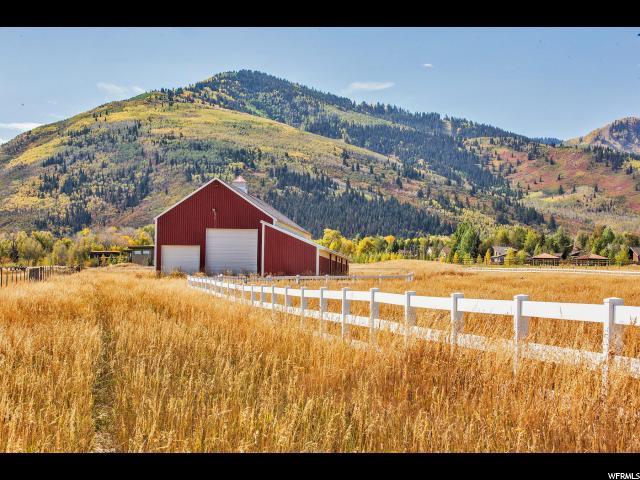Terrain pour l Vente à 1437 W OLD RANCH Road 1437 W OLD RANCH Road Park City, Utah 84098 États-Unis