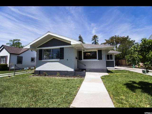 Один семья для того Продажа на 1467 E HOLLYWOOD 1467 E HOLLYWOOD Salt Lake City, Юта 84105 Соединенные Штаты