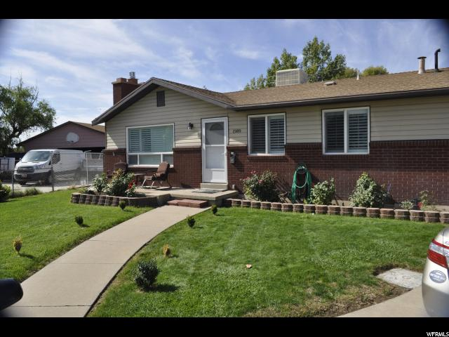 Single Family للـ Sale في 1989 N 450 W 1989 N 450 W Sunset, Utah 84015 United States