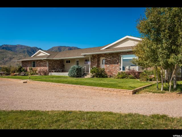 Unifamiliar por un Venta en 445 HARMONY Drive 445 HARMONY Drive New Harmony, Utah 84757 Estados Unidos