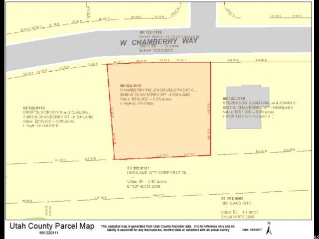 6059 W CHAMBERRY WAY Highland, UT 84003 - MLS #: 1484853