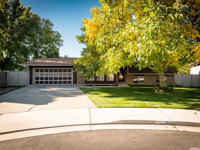 Single Family for Sale at 913 W 1350 N 913 W 1350 N Orem, Utah 84057 United States