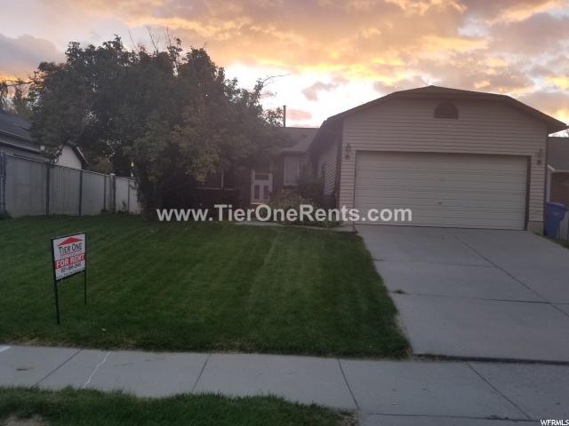 单亲家庭 为 出租 在 6375 S DRY WIND 6375 S DRY WIND Taylorsville, 犹他州 84129 美国