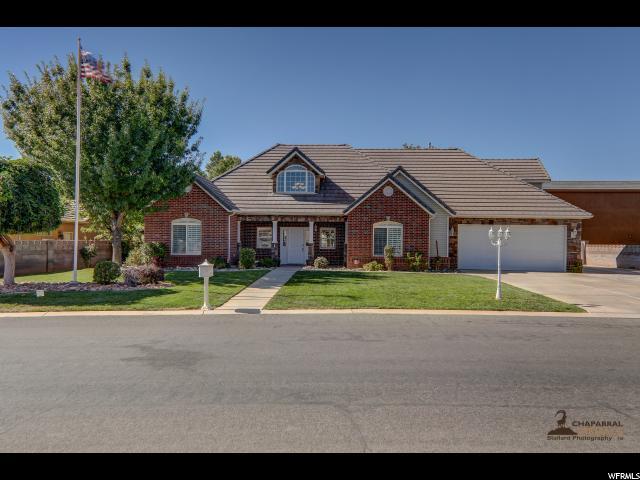Один семья для того Продажа на 2366 S ALAMOSA Drive 2366 S ALAMOSA Drive Washington, Юта 84780 Соединенные Штаты