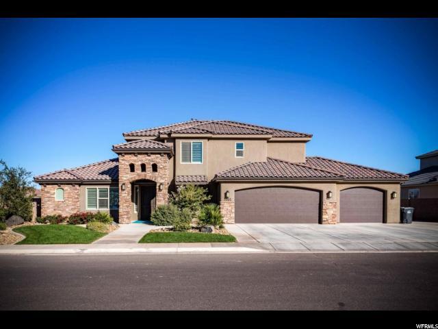 单亲家庭 为 销售 在 3305 S 2240 E 3305 S 2240 E 圣乔治, 犹他州 84770 美国