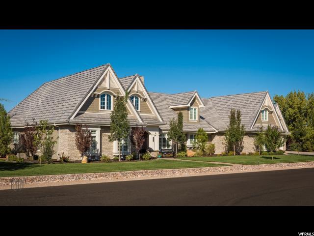 Один семья для того Продажа на 2950 S OLD FARM Road 2950 S OLD FARM Road Washington, Юта 84780 Соединенные Штаты
