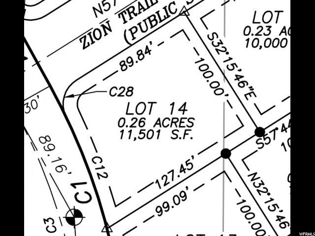 282 E ZION TRL Unit 14 Toquerville, UT 84774 - MLS #: 1486281