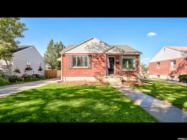 Unique la famille pour l Vente à 2846 S FILMORE Street 2846 S FILMORE Street Salt Lake City, Utah 84106 États-Unis