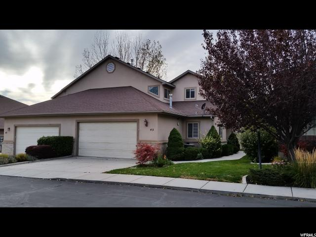 Townhouse for Sale at 43 HILLSBOROUGH Drive 43 HILLSBOROUGH Drive Unit: 43 Pleasant View, Utah 84414 United States
