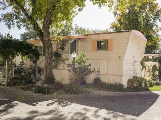 Частный односемейный дом для того Продажа на 255 N 1600 W 255 N 1600 W Unit: 81 Provo, Юта 84601 Соединенные Штаты