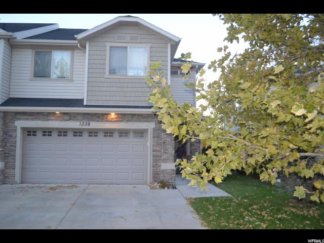Townhouse for Sale at 1338 STONE MEADOW Drive 1338 STONE MEADOW Drive West Jordan, Utah 84088 United States