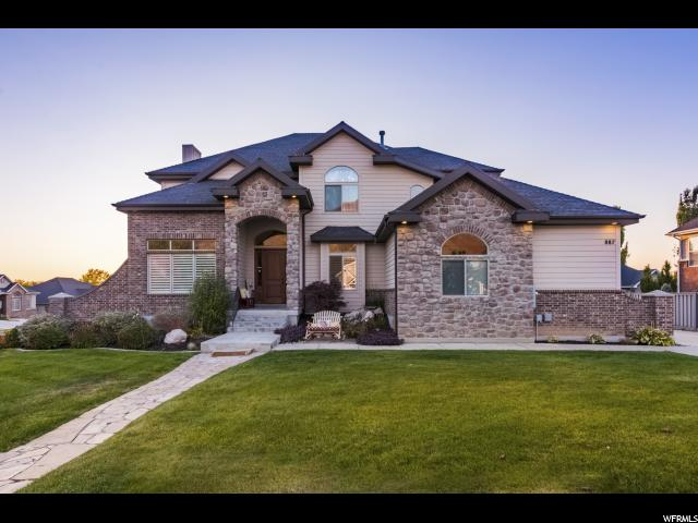 Single Family for Sale at 887 E FENCE POST Road 887 E FENCE POST Road Fruit Heights, Utah 84037 United States
