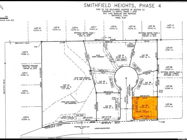 Land for Sale at Address Not Available Smithfield, Utah 84335 United States