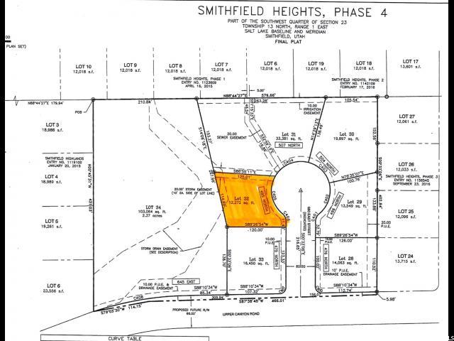 أراضي للـ Sale في Address Not Available Smithfield, Utah 84335 United States