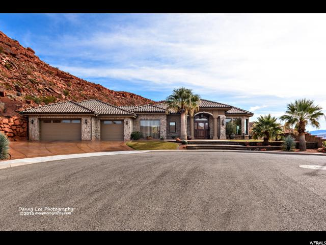Single Family for Sale at 1838 CASCADE CANYON Circle 1838 CASCADE CANYON Circle St. George, Utah 84770 United States