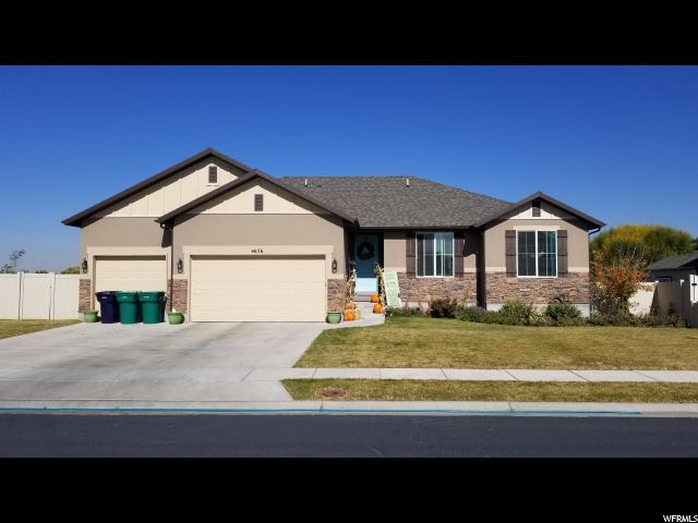 Один семья для того Продажа на 4676 W 5925 S 4676 W 5925 S Hooper, Юта 84315 Соединенные Штаты