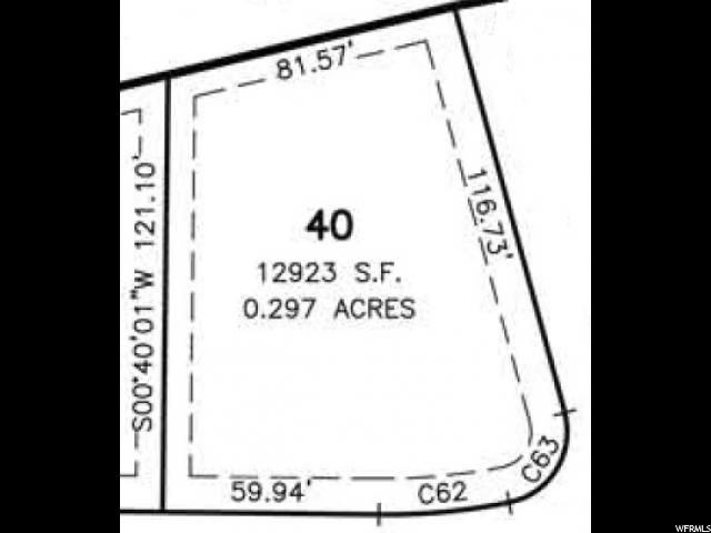 40 LOT WASHINGTON VIS Washington, UT 84780 - MLS #: 1487830