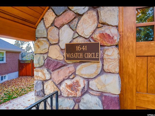 1641 E WASATCH CIR Salt Lake City, UT 84105 - MLS #: 1487940
