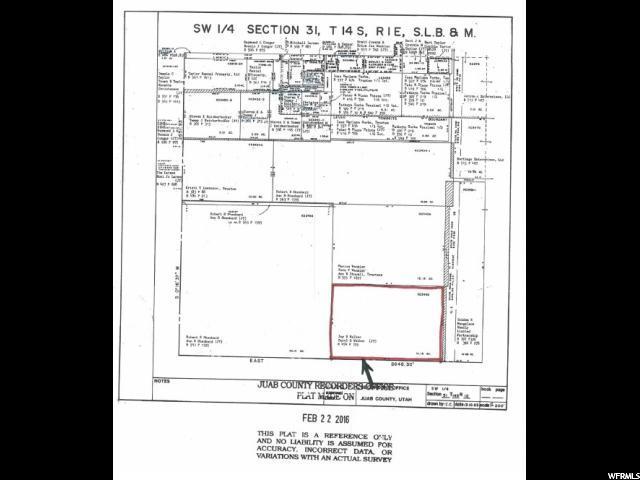 0 SEE REMARKS Levan, UT 84639 - MLS #: 1488166