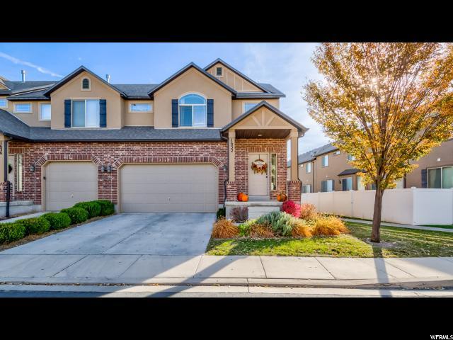Townhouse for Sale at 1632 N BLACKHAWK Drive 1632 N BLACKHAWK Drive Saratoga Springs, Utah 84045 United States