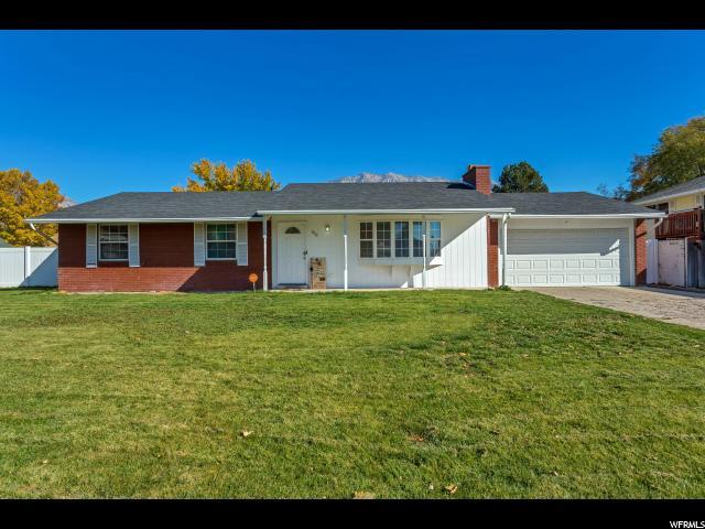 Single Family for Sale at 836 N 470 E 836 N 470 E Orem, Utah 84097 United States