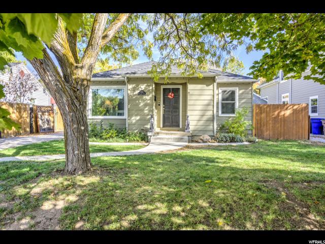 Unique la famille pour l Vente à 2293 S WELLINGTON Street 2293 S WELLINGTON Street Salt Lake City, Utah 84106 États-Unis