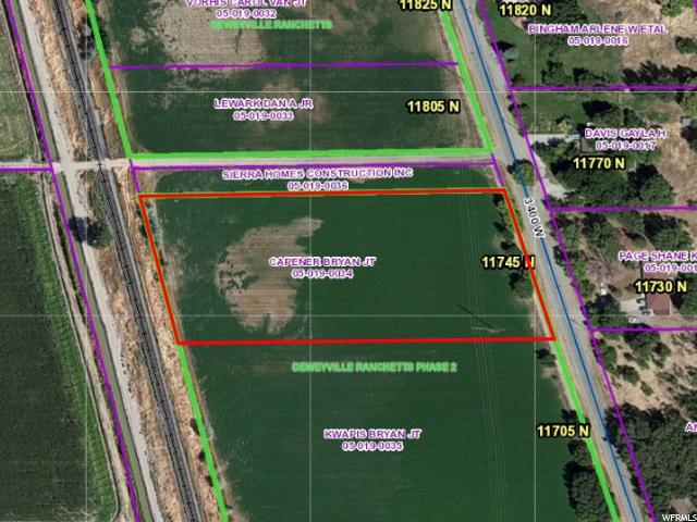 Land for Sale at 11745 N 3400 W 11745 N 3400 W Deweyville, Utah 84309 United States