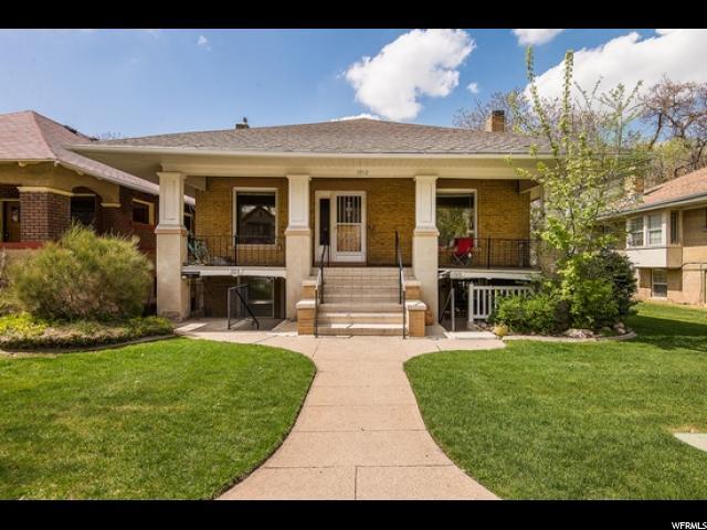 Triplex pour l Vente à 1012 S LAKE Street 1012 S LAKE Street Salt Lake City, Utah 84105 États-Unis