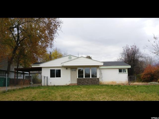 单亲家庭 为 销售 在 515 KIRK Street 515 KIRK Street Layton, 犹他州 84041 美国