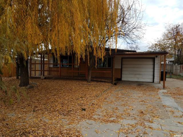 Single Family للـ Sale في 1354 N 475 W 1354 N 475 W Sunset, Utah 84015 United States