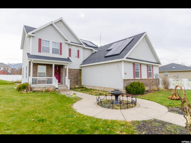 单亲家庭 为 销售 在 3744 SHERIDAN RIDGE Lane 3744 SHERIDAN RIDGE Lane 尼布利, 犹他州 84321 美国