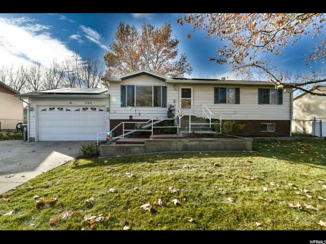 Single Family للـ Sale في 1745 N 600 W 1745 N 600 W West Bountiful, Utah 84087 United States