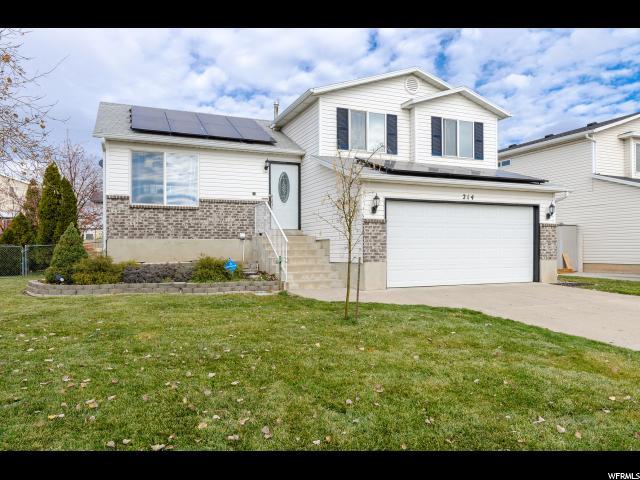 Single Family للـ Sale في 214 W 1475 N 214 W 1475 N Layton, Utah 84041 United States